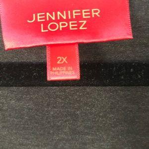 Jennifer Lopez Tops - NWOT Jennifer Lopez Cold Shoulder Top